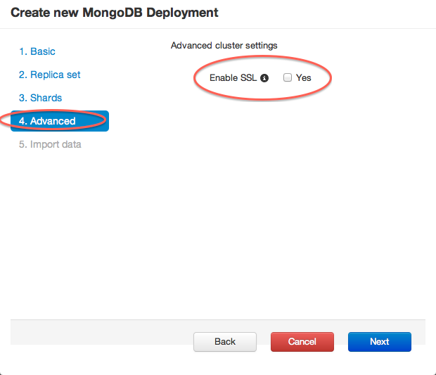 MongodB with ssl